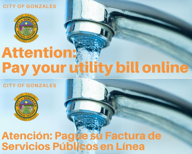 Pay Utility Bill Online / Pague su Factura por Internet