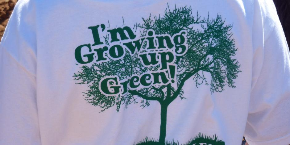 Growing Up Green in Gonzales T-Shirt