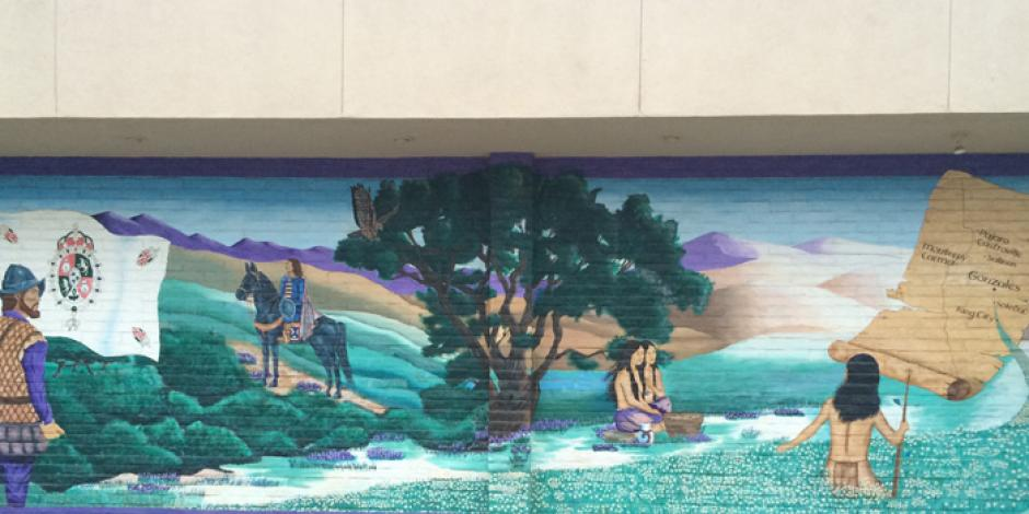 Mural at 133 Fourth St