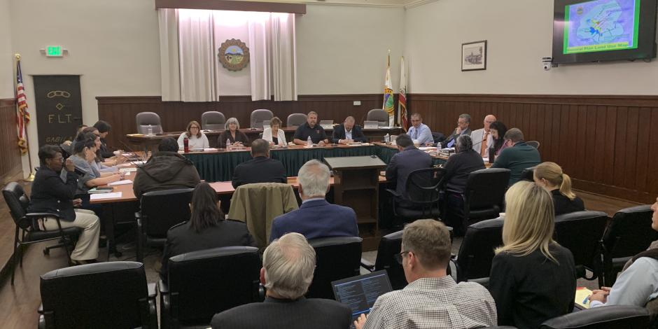 Joint meeting of City Council, Planning Commission, and School Board