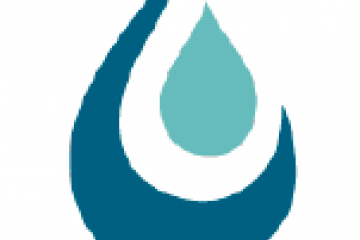 Graphic of drop of water with three layers - for SVBGSA logo
