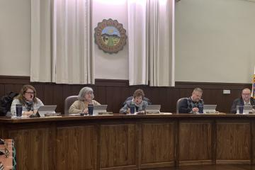 City Council at a public meeting