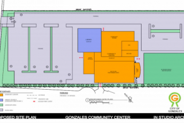 Community Center Site Plan