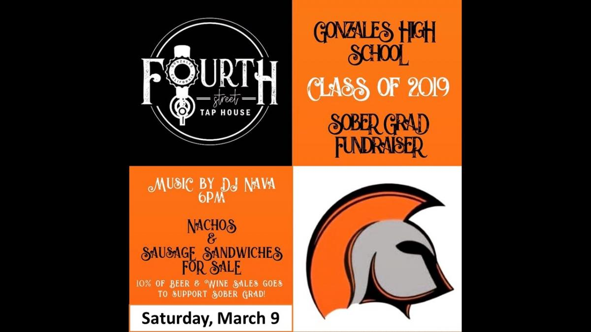 GHS Sober Grad Fundraiser March 9 at Fourth St. Tap House