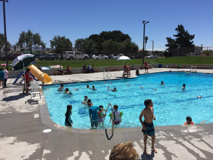 Community Pool Open Through 9/16