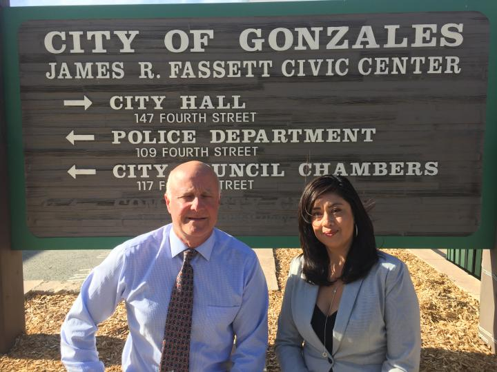 Planning Department staff, Matthew Sundt and Tencia Vargas