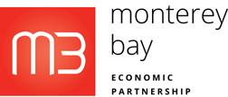 Logo for Monterey Bay Economic Partnership - red box with M3 in it