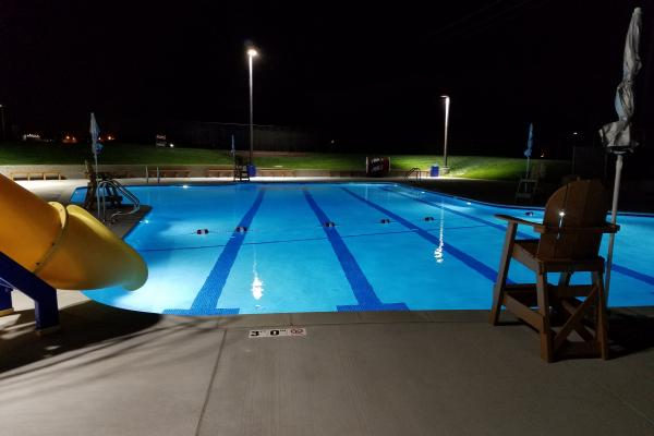 Photo of Gonzales Pool at Night