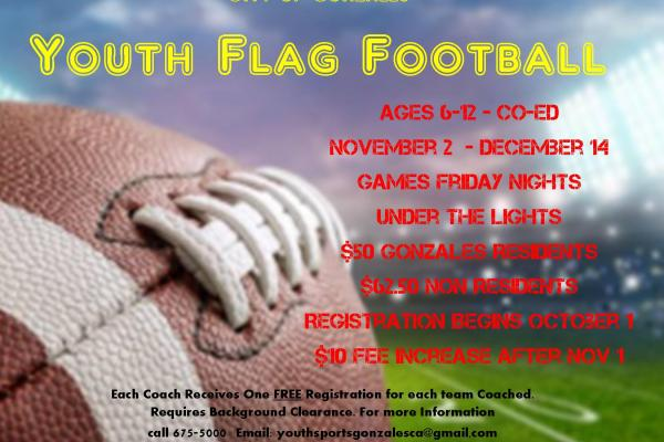 Information for Youth Flag Football League